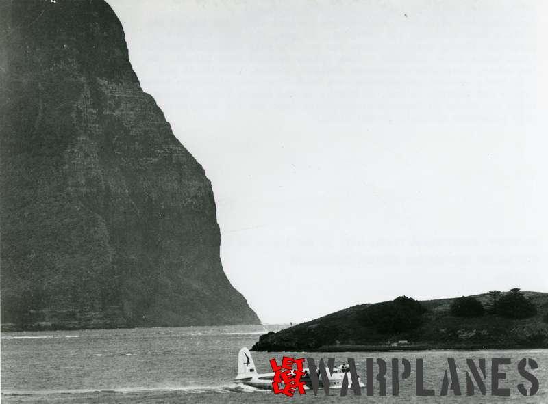 Short S.25 Sandringham Ansett in the lagoon atf Lord Howe Islans