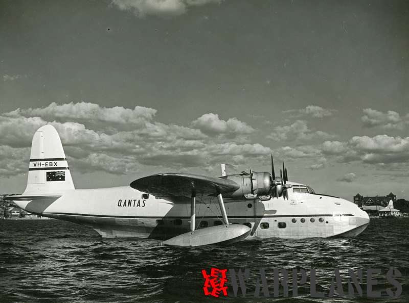 Short S.25 Sandringham VH-EBX Qantas