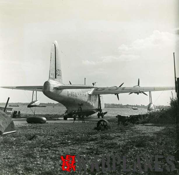 Short S.25 Sunderland G-AGJL