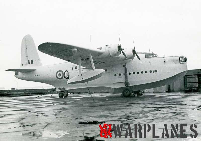 Short S.25 Sunderland NZ4115 RNZAF
