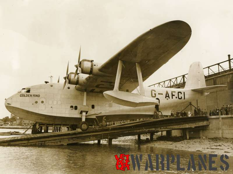 Short S.26 Empire G-AFCI 'Golden Hind'