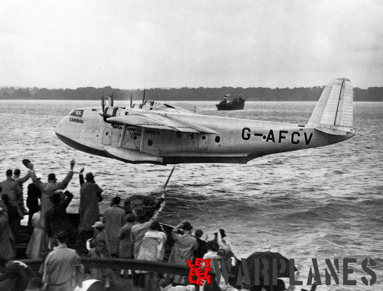 Short S.30 Empire G-AFCV 'Caribou' Imperial Airways_2