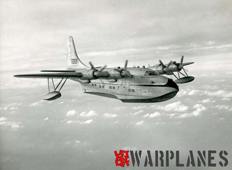 Short S.45 Solent RMA Aotearoa II ZK-AML Tasman Empire Airways Limited_1