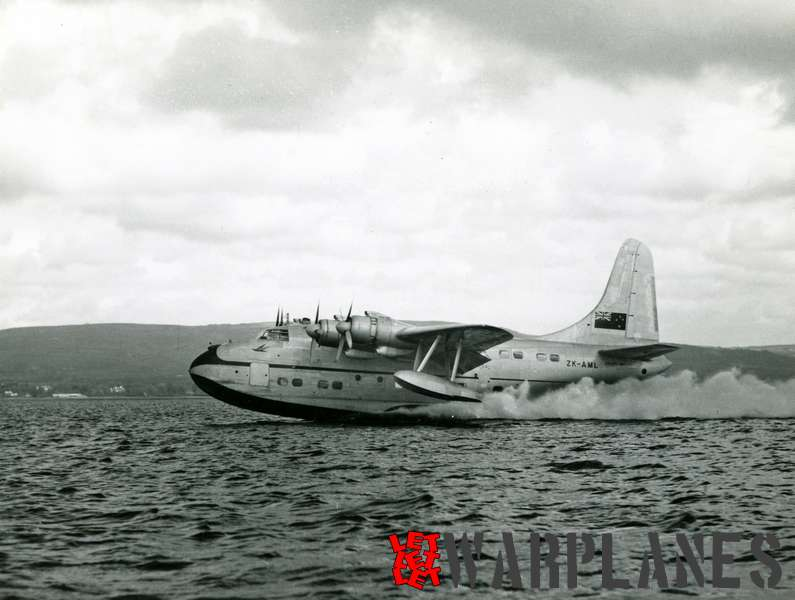 Short S.45 Solent RMA Aotearoa II ZK-AML Tasman Empire Airways Limited_2