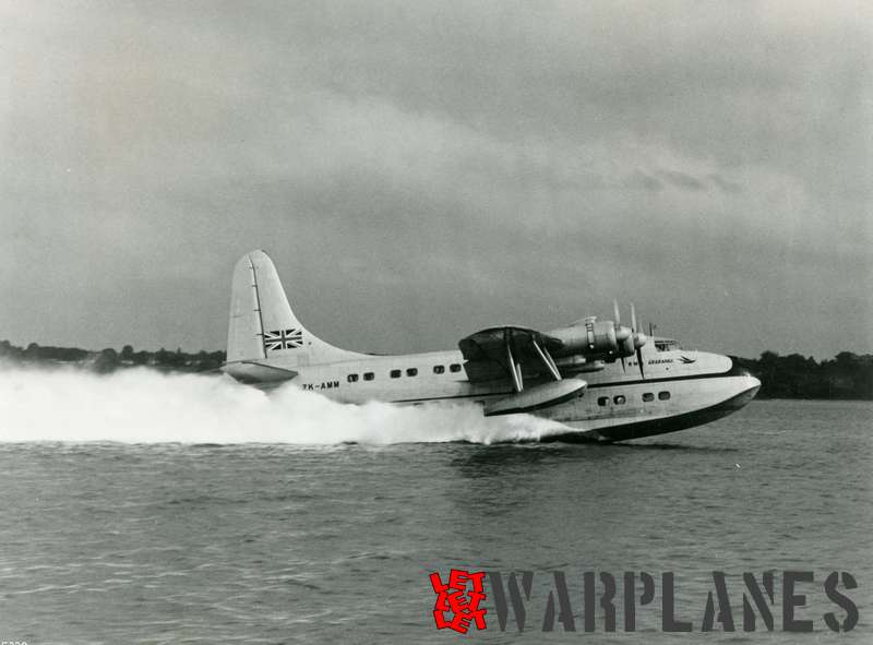 Short S.45 Solent ZK-AMM RMA Ararangi Tasman Empire Airways