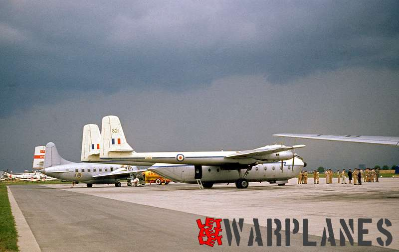 Armstrong Whitworth AW. Argosy XN821 R.A.F. with Vickers Varsity Swedish air force