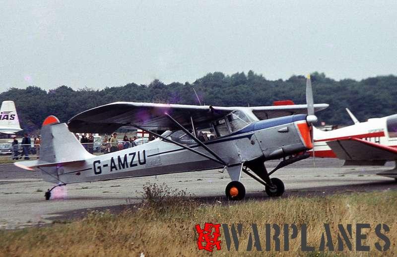 Auster J5F Aiglet Trainer G-AMZU