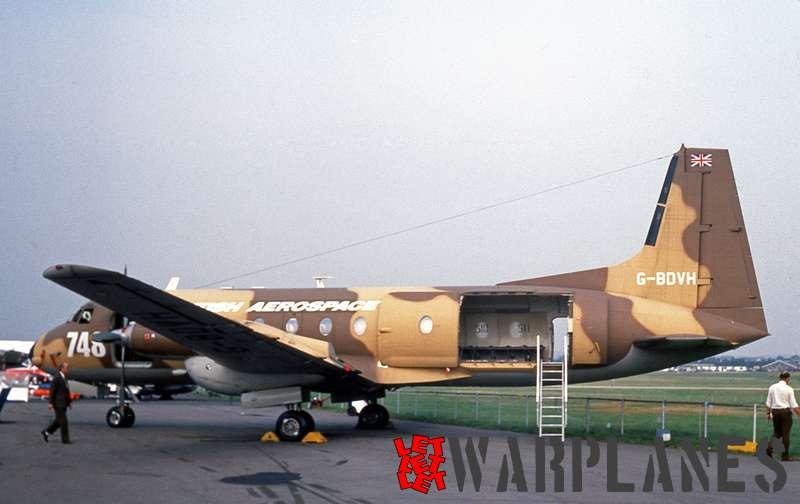 British Aerospace BAé.748 Andover G-BDVH '748'