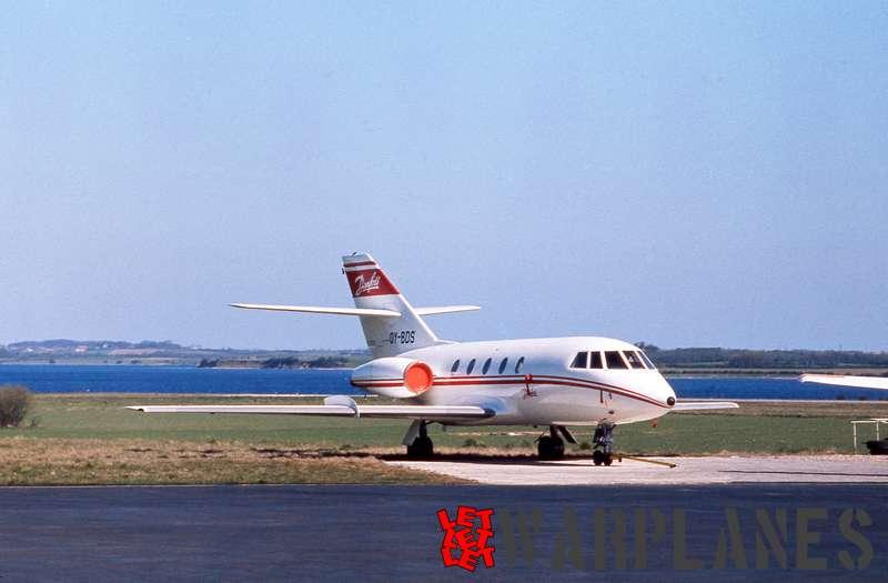Dassault Falcon 20C-5 OY-DBS