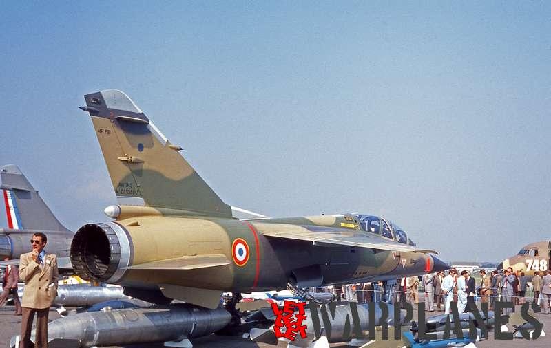 Dassault Mirage F.1e Armée de l'Air, fFarnborough 1978_