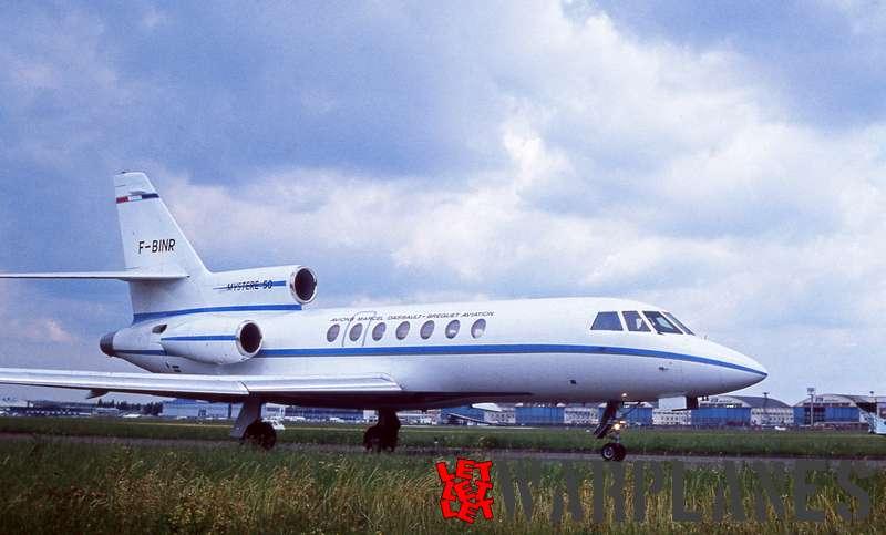 Dassault Mystère 50 F-BINR, Le Bourget