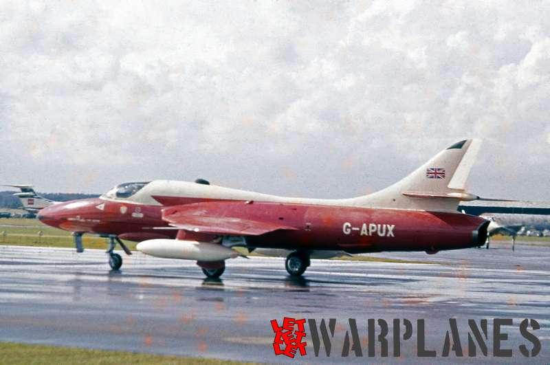 Hawker Hunter T.7 G-APUX