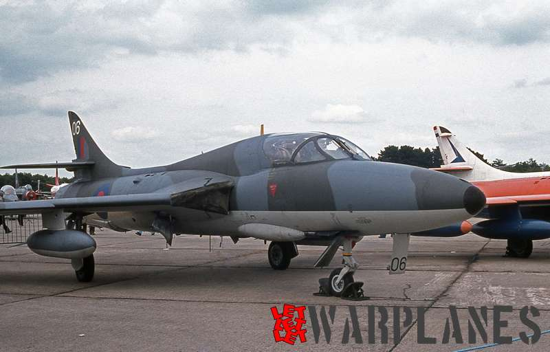 Hawker Hunter T.7 two-seat trainer