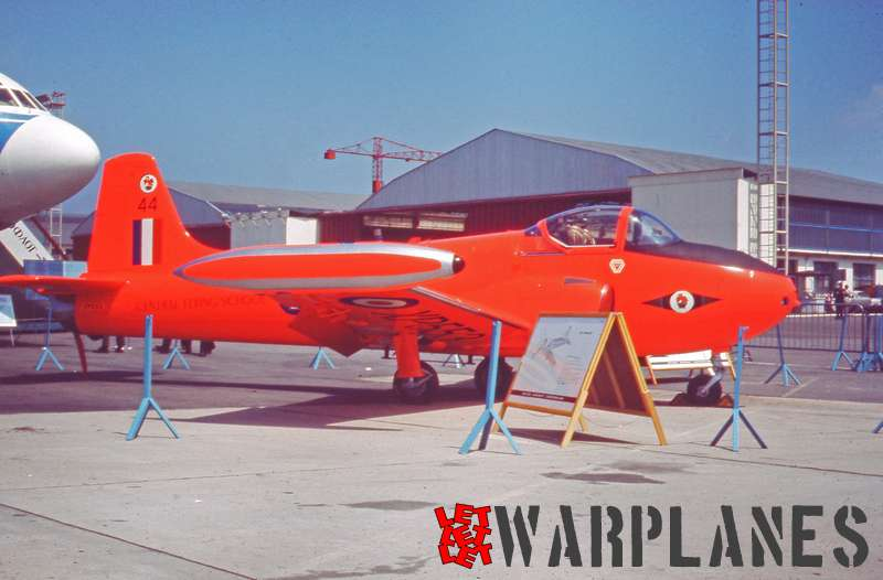 Hunting-Percival Jet Provost XP553 R.A.F. Central Flying School, Le Bourget 1965