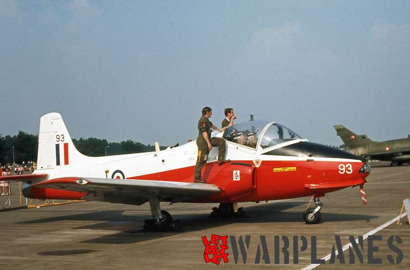 Hunting-Percival Jet Provost no. 93 R.A.F.
