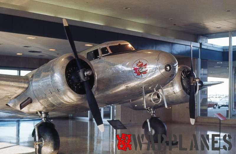 Lockheed 10A CF-TCC Western Canada Aviation Museum