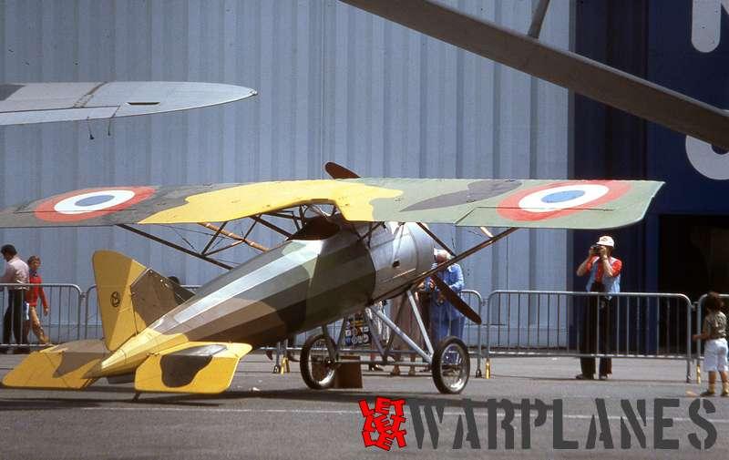 Morane Saulnier MS.30 A-1 replica, e Bourget