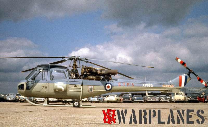 Westland Scout A.H.1 XP165 E.T.P.S.