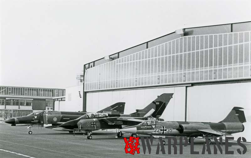 Panavia Tornado 43#13 with Luftwaffe F-104G and F-4 Phantom