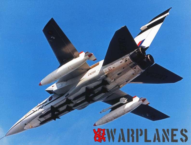 Panavia Tornado F.2 ZA254