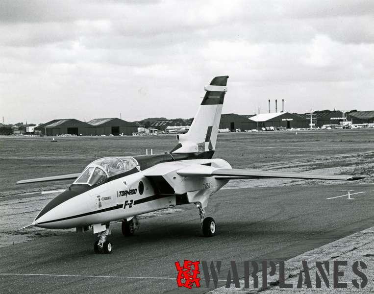Panavia Tornado F.2 prototype ZA254