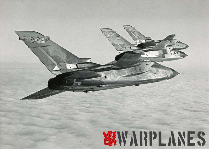 Panavia Tornado GR.1 B-02, G-25 and B-03