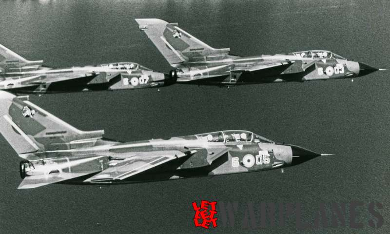 Panavia Tornado formation Italian air force