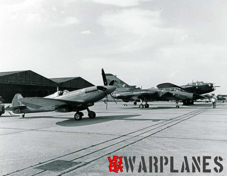 Panavia Tornado no. 233 With BBMF Avro Lancaster and Supermarine Spitfire
