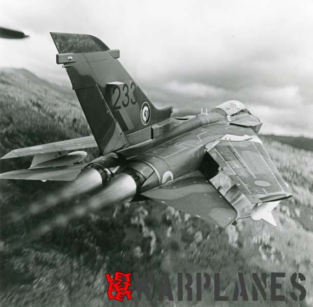 Panavia Tornado no. 233 in flight_1