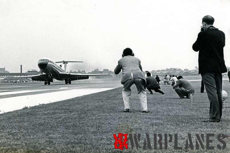Hawker Siddeley HS.121 Trident Farnborough 1962