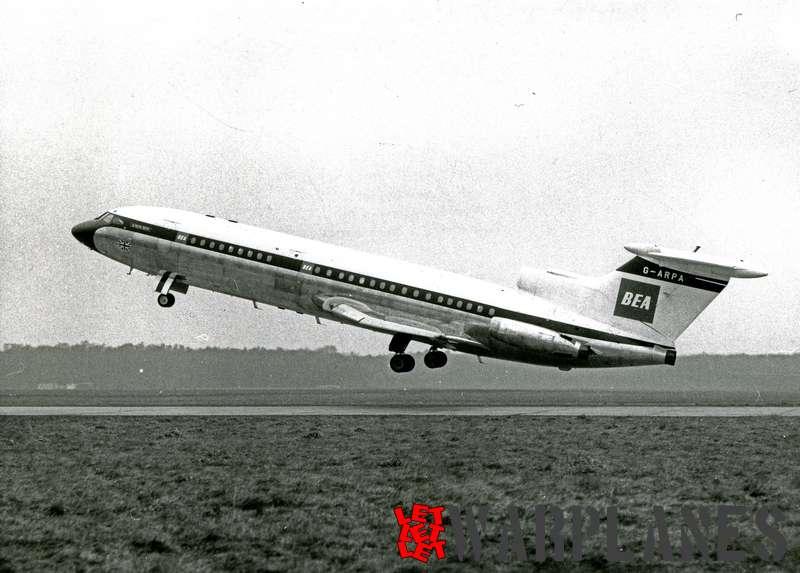 Hawker Siddeley HS.121 Trident G-ARPA B.E.A._1