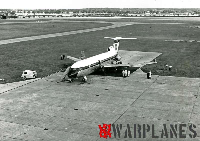 Hawker Siddeley HS.121 Trident G-ARPA B.E.A._2