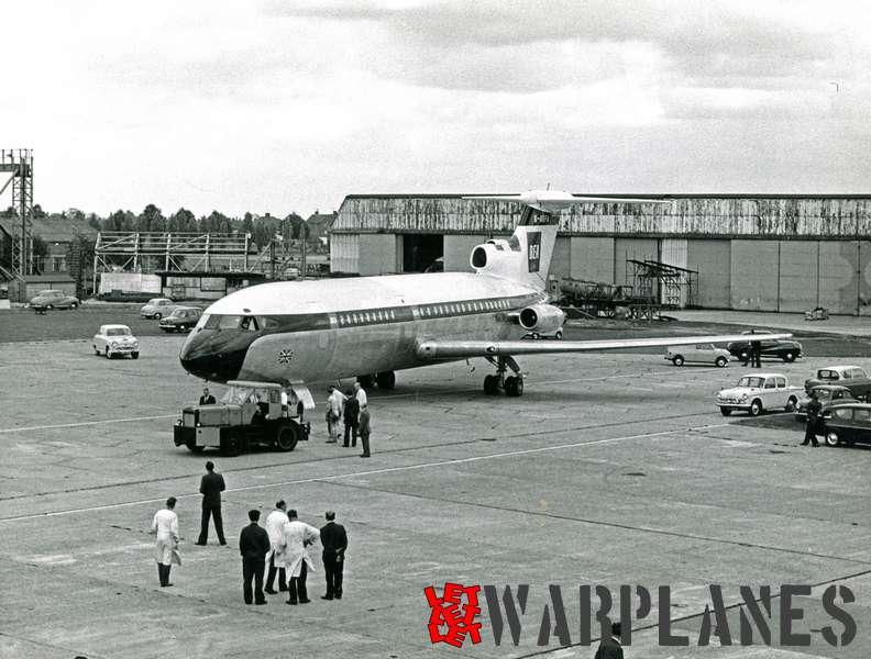 Hawker Siddeley HS.121 Trident G-ARPA B.E.A._3