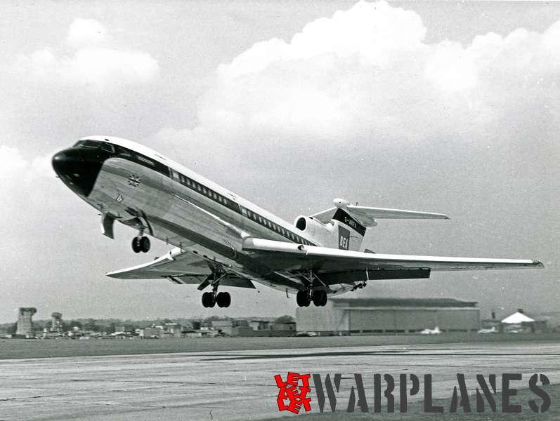 Hawker Siddeley HS.121 Trident G-ARPA B.E.A._4