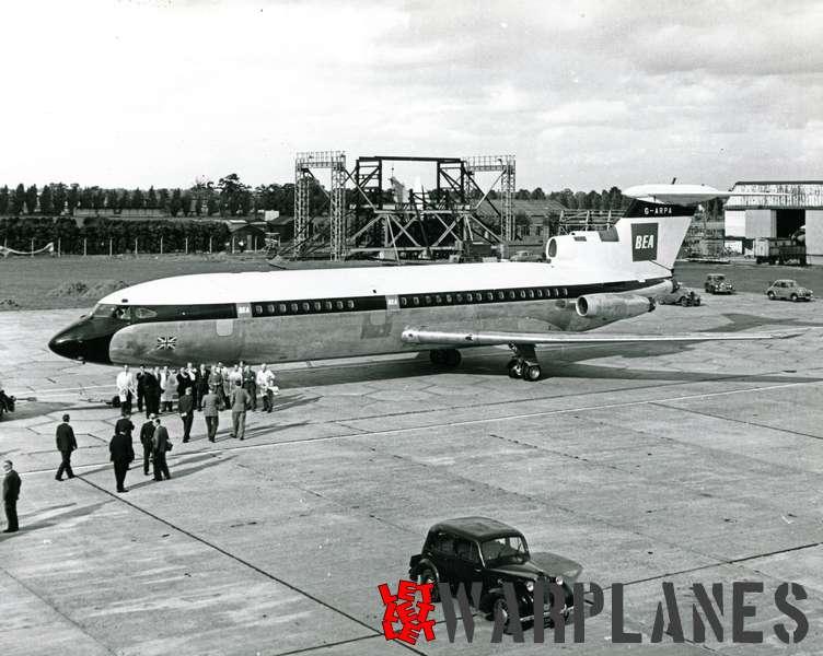 Hawker Siddeley HS.121 Trident G-ARPA B.E.A._5