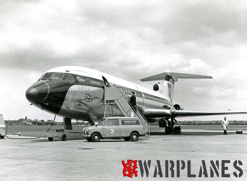 Hawker Siddeley HS.121 Trident G-ARPB B.E.A._1