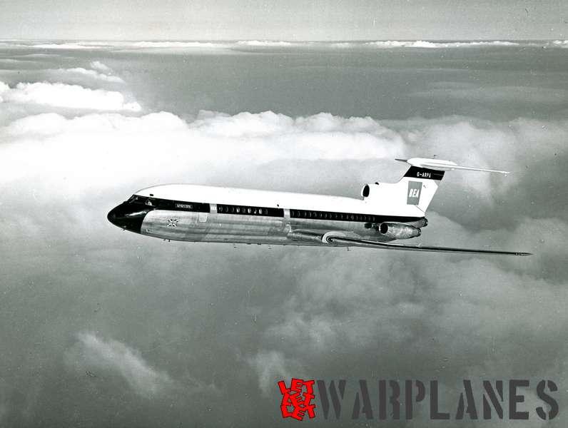 Hawker Siddeley HS.121 Trident G-ARPB B.E.A._2