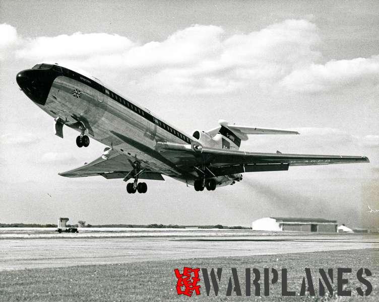 Hawker Siddeley HS.121 Trident G-ARPB B.E.A._3