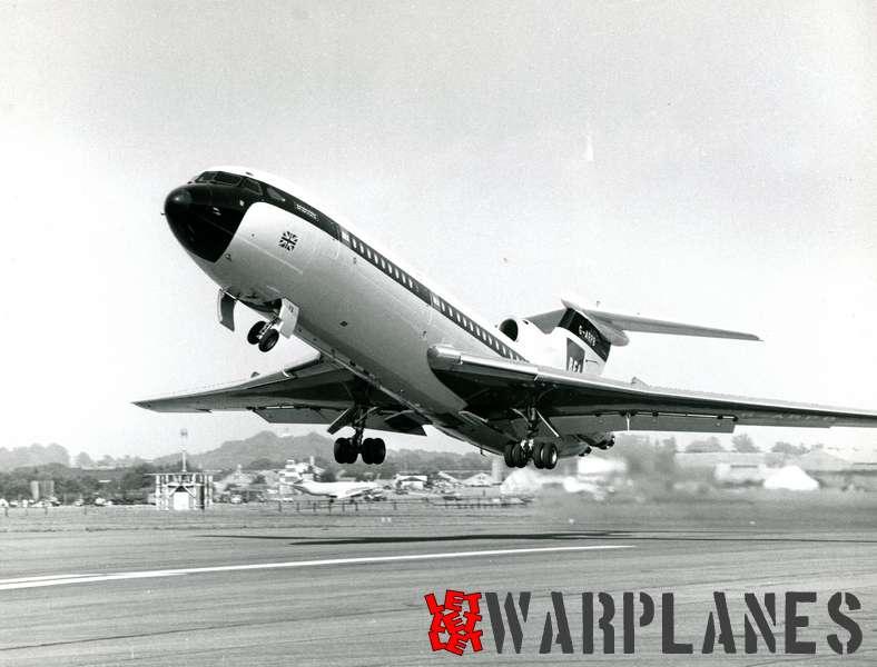 Hawker Siddeley HS.121 Trident G-ARPB B.E.A._4