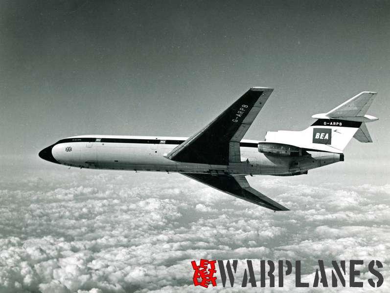 Hawker Siddeley HS.121 Trident G-ARPB B.E.A._5