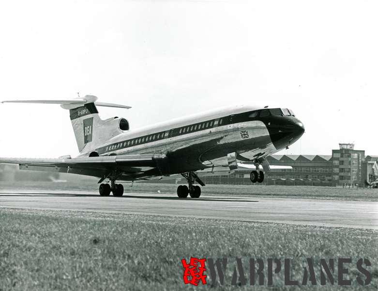 Hawker Siddeley HS.121 Trident G-ARPJ B.E.A.