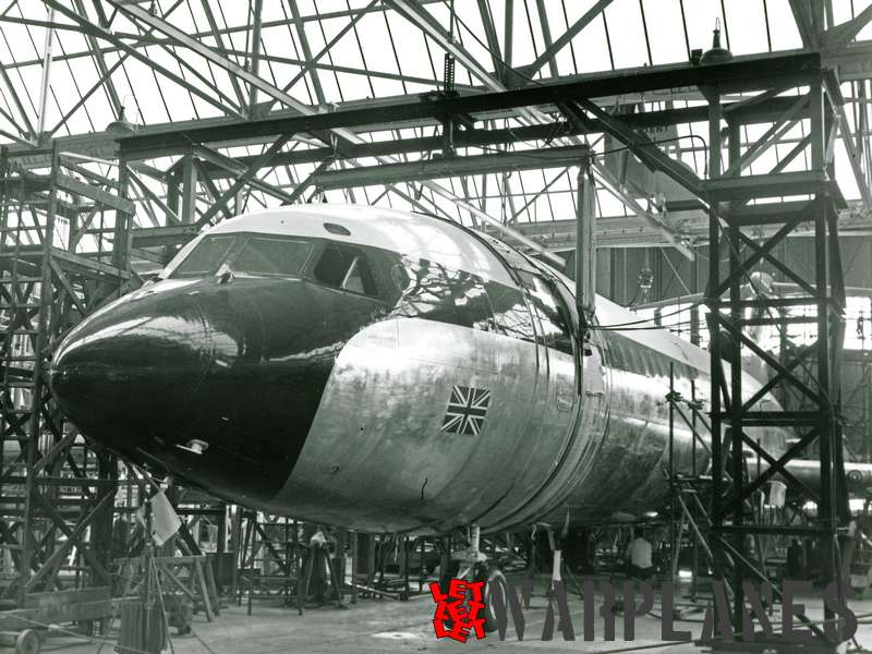 Hawker Siddeley HS.121 Trident final assembly