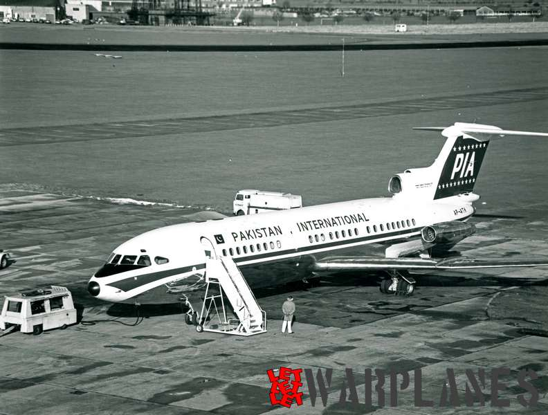 Hawker Siddeley Trident 1E AP-ATK Pakistan International_2
