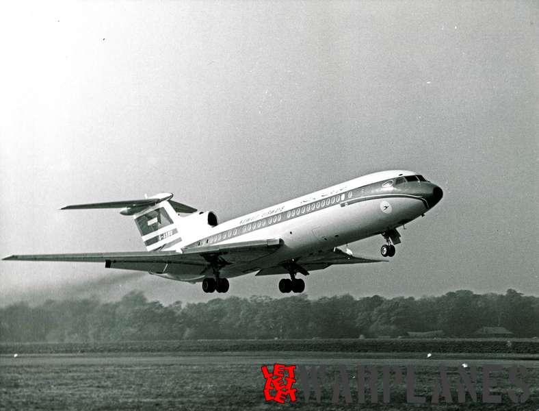 Hawker Siddeley Trident 1E G-ASWU Kuwat Airways