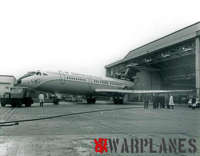 Hawker Siddeley Trident 1E G-AVYB Channel Airways