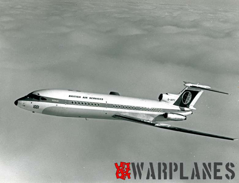 Hawker Siddeley Trident 1E G-AVYC British Air Services