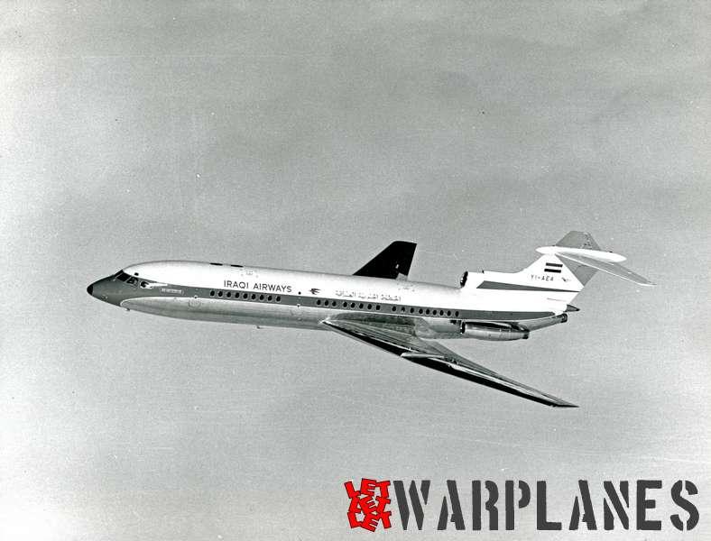 Hawker Siddeley Trident 1E YI-AEA Iraqui Airways