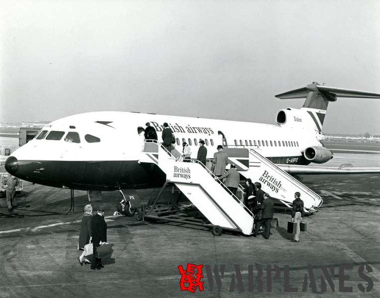 Hawker Siddeley Trident G-ARPX British Airways