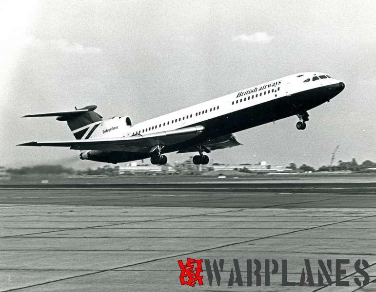 Hawker Siddeley Trident Three British Airways