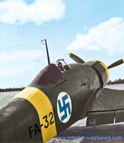 Finish modified Fiat G.50